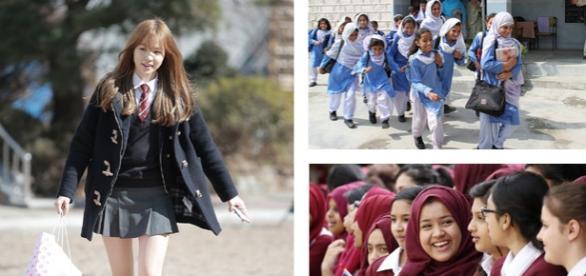Un primar cere elevelor să nu poarte fuste scurte