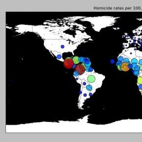 Homicide map/ Photo: Steven Kay via Flickr