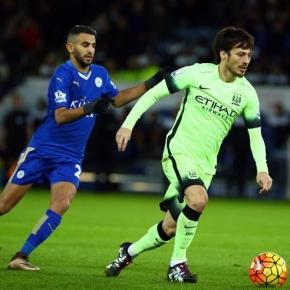 Riyad Mahrez, David Silva / photo:flickr.com