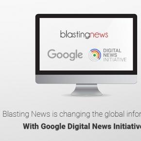 Blasting News a fost selectat de Google