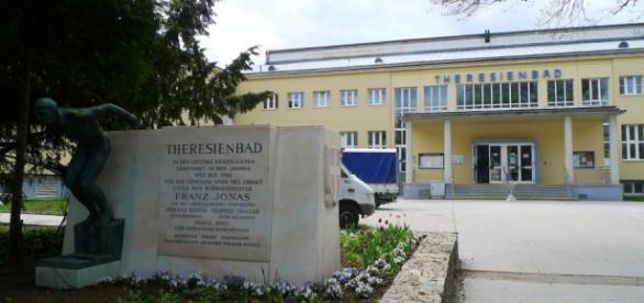 Piscina din Viena unde a avut loc atrocitatea