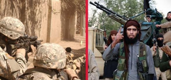 Trupele speciale SAS în misiune împotriva ISIS
