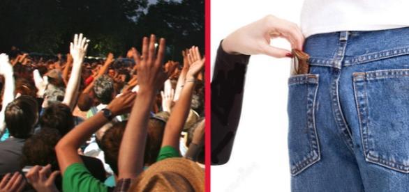 Hoţi de buzunare români fură la concertele rock