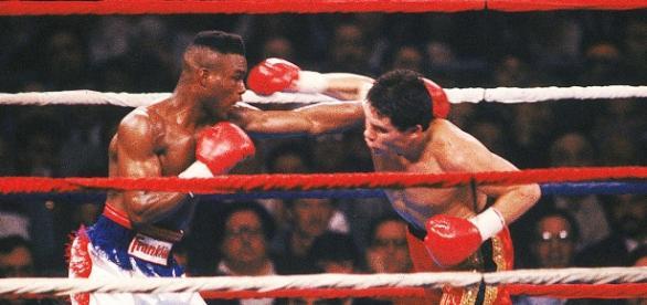 Medryck Taylor vs Julio Cèsar Chávez en 1990