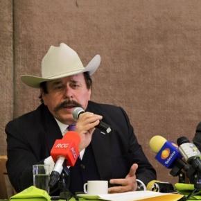 Armando Guadiana, empresario taurino.