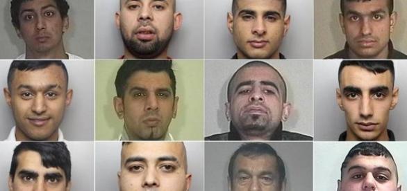 Gașca de violatori de origine asiatică