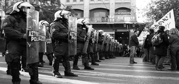 Protests in Athens/ Photo: Murplejane via Flickr