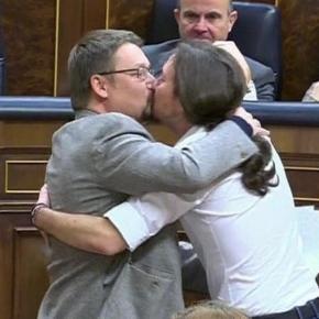 Beso de maestro masón de la discreción.