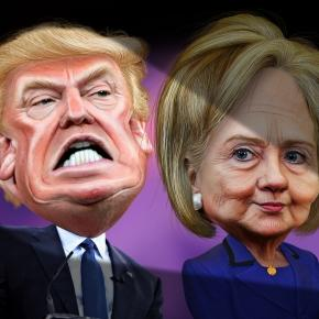 Trump, Hillary Clinton and Bernie Sanders face off