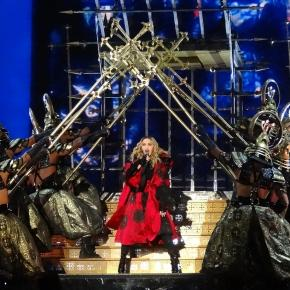"Madonna and her dancers performing ""Iconic"""