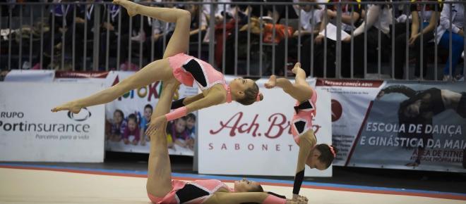 Competição internacional de acrobática voltou à Maia