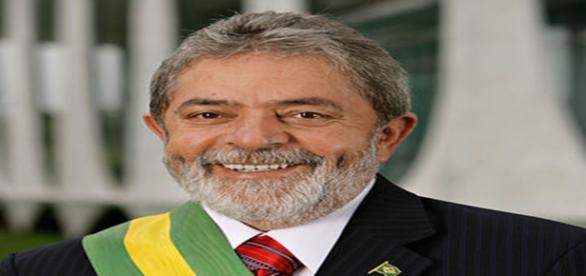 ex–presidente Luis Inácio Lula daSilva