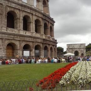 Coliseu, em Roma (Foto: arquivo pessoal)