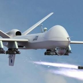 Atak izraelskiego drona niewidzialnego dla radarów