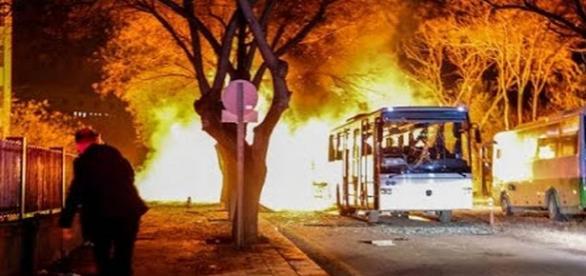 Explozie la Ankara soldată cu 37 de morți