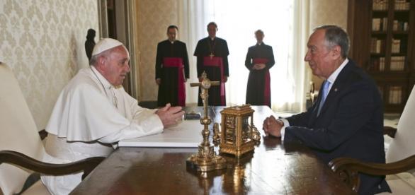 Visita ao Vaticano de Marcelo Rebelo de Sousa.