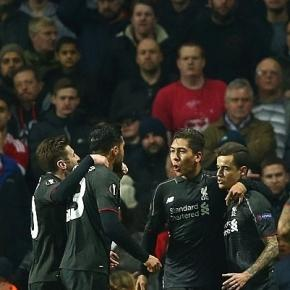 Coutinho celebrates his equaliser