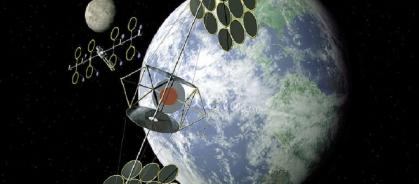 How Space Based Solar Power Plants Could Be Built By