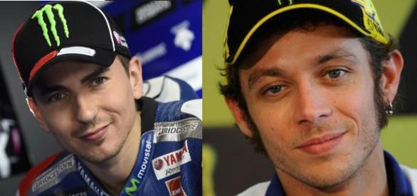 Valentino Rossi and Jorge Lorenzo, MotoGP 2016
