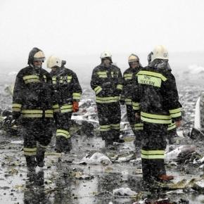 Rosja. Katastrofa samolotu pasażerskiego