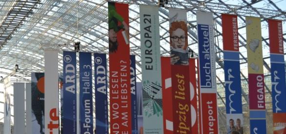 Leipziger Buchmesse 2016 - die Glashalle