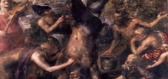 "Titian's ""The Flaying of Marsyas"" Creative Commons"