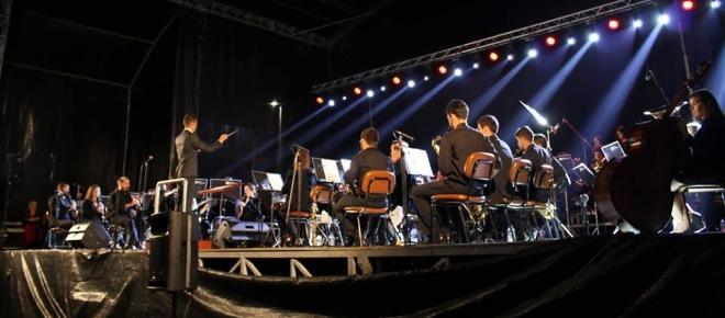 Banda de Antas, Esposende, apresenta-se no Quartel dos Bombeiros (com vídeo)