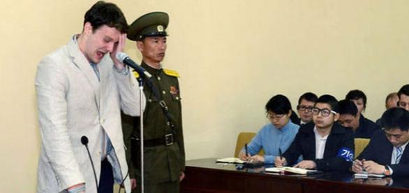 Studentul plânge la aflarea sentinței Foto Reuters