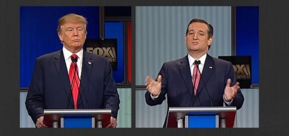 Trump and Cruz Debate Elections 2016