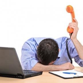 débordement de fatigue au travail
