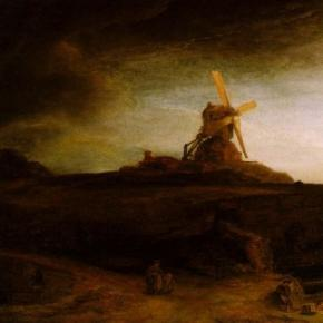 """The Mill"" by Rembrandt Creative Commons"
