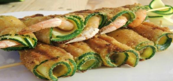 Cannelloni Gamberi E Zucchine!