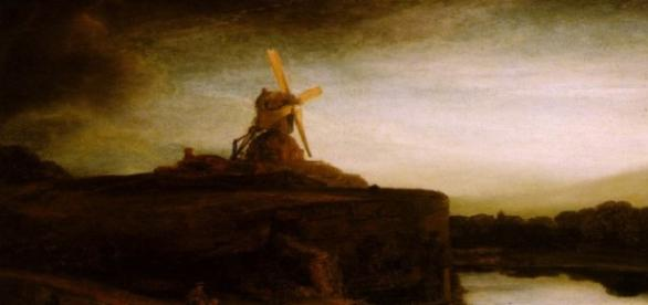 """""""The Mill"""" by Rembrandt Creative Commons"""
