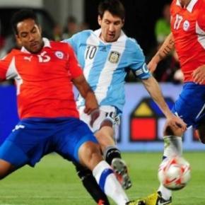 A Argentina volta a jogar com o Chile