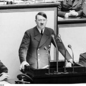 Real life Nazi Adolf Hitler (German federal archives)