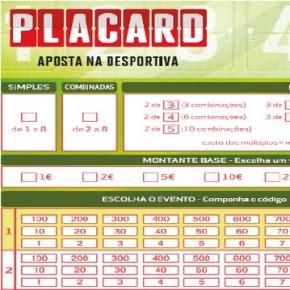 Boletim de Apostas Desportivas do Placard