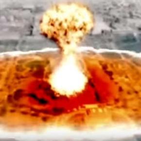 Atac nuclear asupra Washington DC - Captură Youtube