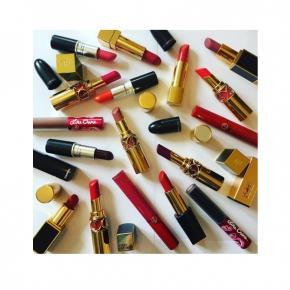 Lipstick collection: Tom Ford, Chanel, YSL, Giorgio Armani & M.A.C
