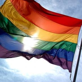 The rainbow flag is a symbol for the LGBT community/Photo via Wikimedia Commons