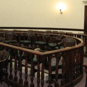 An empty jury box. Photo:KenLund/Wikipedia