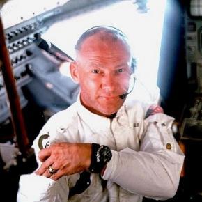 Buzz Aldrin aboard Apollo 11 (NASA)
