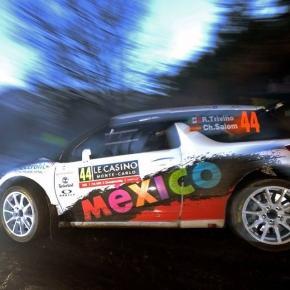 Ricardo Triviño, protagonista en la WRC2