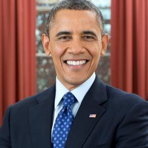 Portrait of Barack Obama (Wikipedia)