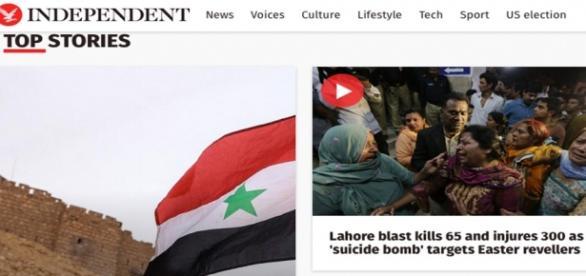 Foto del sitio webl The Independent