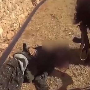 Cadavrul militantului ISIS ce și-a filmat moartea