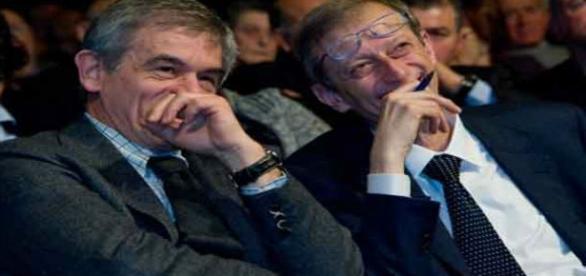 Sergio Chiamparino con Piero Fassino