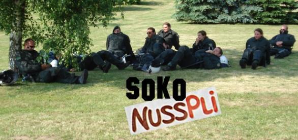"Voller Tatendrang: Soko ""Nusspli"""