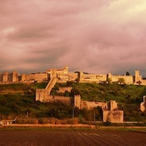 Panorâmica do Castelo de Montemor-o-Velho.