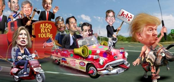 Republikańscy kandydaci w wyborach w USA