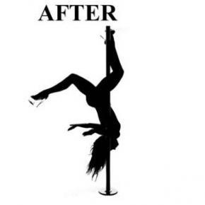 Pole Dance ejercicio para mujeres y hombres